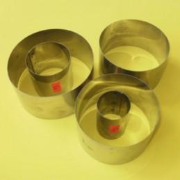 Aro De Acero  Nº   8 - Alto 5 Cm - Diametro  8 Cm X Unid.  - 1