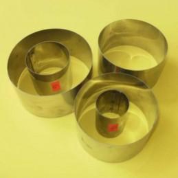 Aro De Acero  Nº   7 - Alto 5 Cm - Diametro  7 Cm X Unid.  - 1