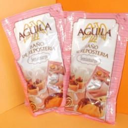 Chocolate Baño Reposteria Semiamargo X  150 G - Aguila Aguila - 1