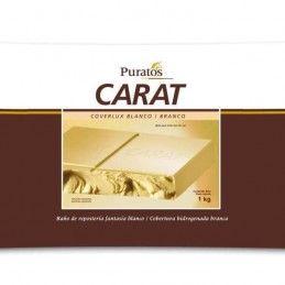 Chocolate Baño Moldeo Gotas Blanco Coverlux X  12 Kg - Carat Carat - 1