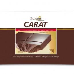 Chocolate Baño Moldeo Gotas Semiamargo Coverlux X  12 Kg - Carat Carat - 1