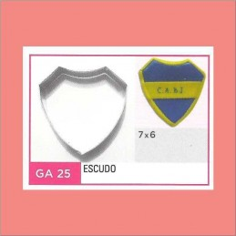 Cortante Metal Escudo - Ga25 X Unid. - Flogus Flogus - 1