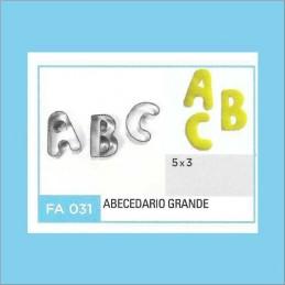Cortante Metal Abecedario Grande  - Fa031 X Unid. - Flogus Flogus - 1