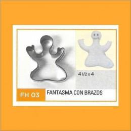 Cortante Metal Fantasma Con Brazos - Fh03 X Unid. - Flogus Flogus - 1