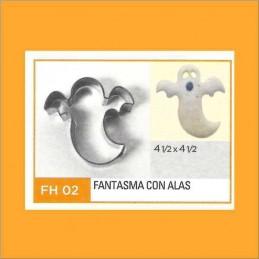 Cortante Metal Fantasma Con Alas - Fh02 X Unid. - Flogus Flogus - 1