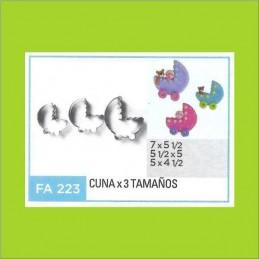 Cortante Metal Cuna - Fa223 X    3 Unid. - Flogus Flogus - 1