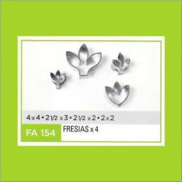 Cortante Metal Fresias - Fa154 X    4 Unid. - Flogus Flogus - 1