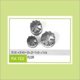 Cortante Metal Flor Nº 132 - Fa132 X Unid. - Flogus Flogus - 1