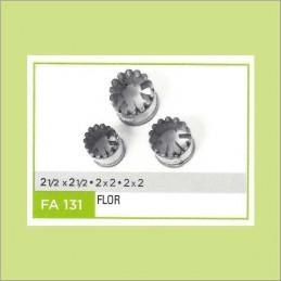 Cortante Metal Flor Nº 131 - Fa131 X Unid. - Flogus Flogus - 1
