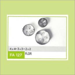 Cortante Metal Flor Nº 127 - Fa127 X Unid. - Flogus Flogus - 1