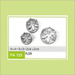Cortante Metal Flor Nº 125 - Fa125 X Unid. - Flogus Flogus - 1