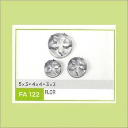 Cortante Metal Flor Nº 122 - Fa122 X Unid. - Flogus Flogus - 1