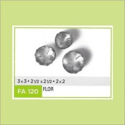 Cortante Metal Flor Nº 120 - Fa120 X Unid. - Flogus Flogus - 1