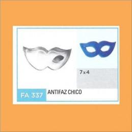Cortante Metal Antifaz Chico - Fa337 X Unid. - Flogus Flogus - 1