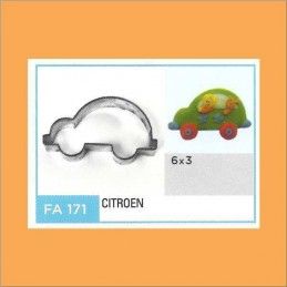 Cortante Metal Auto Citroen - Fa171 X Unid. - Flogus Flogus - 1
