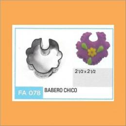 Cortante Metal Babero Chico - Fa078 X Unid. - Flogus Flogus - 1