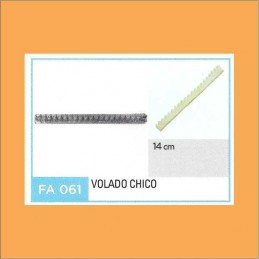 Cortante Metal Volado Chico - Fa061 X Unid. - Flogus Flogus - 1