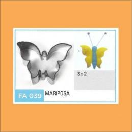 Cortante Metal Mariposa - Fa039 X Unid. - Flogus Flogus - 1