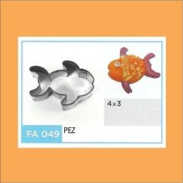 Cortante Metal Pez - Fa049 X Unid. - Flogus Flogus - 1