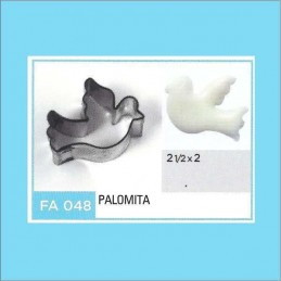 Cortante Metal Palomita - Fa048 X Unid. - Flogus Flogus - 1