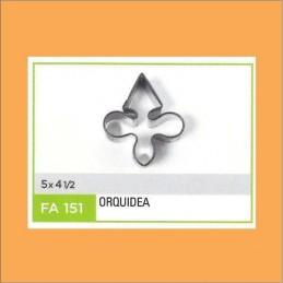 Cortante Metal Orquidea - Fa151 X Unid. - Flogus Flogus - 1