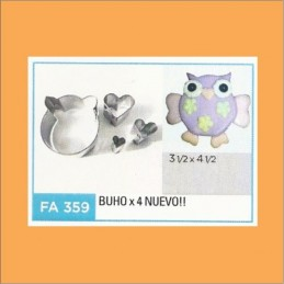 Cortante Metal Buho - Fa359 X    4 Unid. - Flogus Flogus - 1