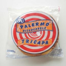 Bizcochuelo Tricapa Redondo Mediano      24 Cm X  970 G - Palermo Palermo - 1