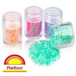 Brillo En Polvo - Givre - Multicolor X    2 G - Fleibor Fleibor - 1