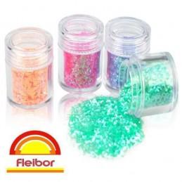 Brillo En Polvo - Givre - Rojo X    2 G - Fleibor Fleibor - 1