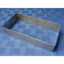 Aro De Acero Rectangular - Alto 6 Cm - 10 X 20 Cm X Unid.  - 1