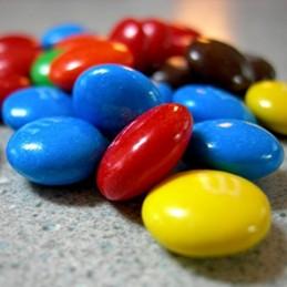 Lentejas De Chocolate - Azul X  250 G  - 1