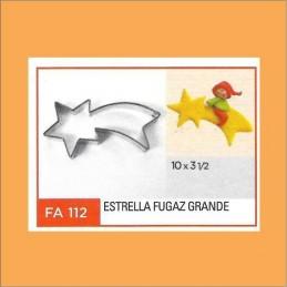 Cortante Metal Estrella Fugaz Grande - Fa112 X Unid. - Flogus Flogus - 1