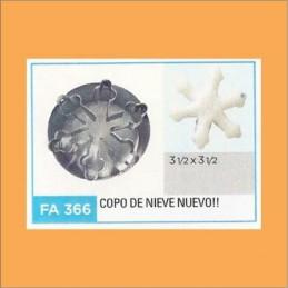 Cortante Metal Copo De Nieve - Fa366 X Unid. - Flogus Flogus - 1