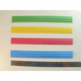 Reglas Dentadas Para Chocolate 30 Cm X    4 Unid.  - 1