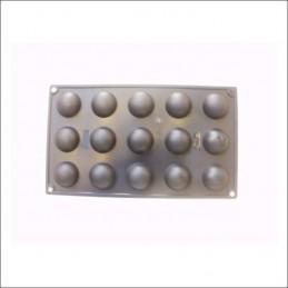 Molde De Silicona Bombones - Semi Esfera X Unid.  - 1