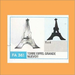 Cortante Metal Torre Eiffel Grande -  Fa361 X Unid. - Flogus Flogus - 1