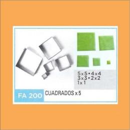 Cortante Metal Cuadrados - Fa200 X    5 Unid. - Flogus Flogus - 1