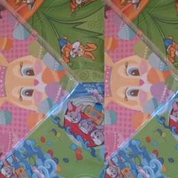 Bolsa P/Huevo De Pascua 35 X 35 Diseño Infantil X   50 Unid. - Cromus Cromus - 1