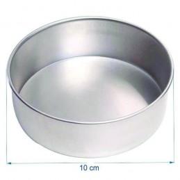 Molde Torta Aluminio Alt. 8 Cm Nº10 X Unid.  - 1
