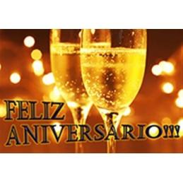 Lamina Cubretorta Feliz Aniversario 03 X Unid.  - 1