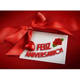 Lamina Cubretorta Feliz Aniversario 05 X Unid.  - 1