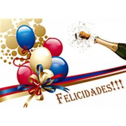 Lamina Cubretorta Felicidades 03 X Unid.  - 1