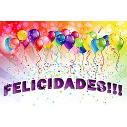 Lamina Cubretorta Felicidades 04 X Unid.  - 1