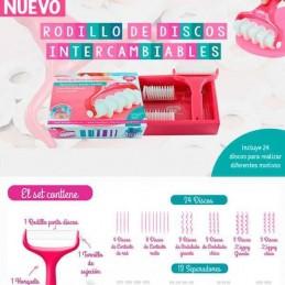 Rodillo Cortante De Cintas Intercambiables X Unid.  - 1