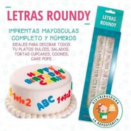 Cortante Numeros y Letras Roundy X Unid.  - 1