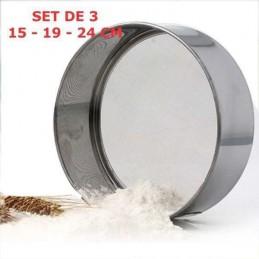 Tamiz Acero Set 2 Piezas 15-20 X Unid.  - 1