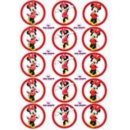 Lamina Para Cupcake Minnie X   15 Unid.  - 1