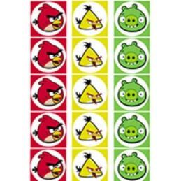 Lamina Para Cupcake Angry Birds X   15 Unid.  - 1
