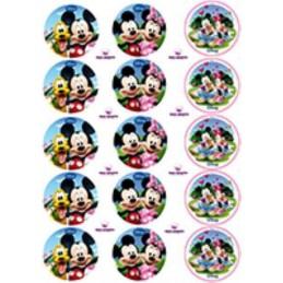 Lamina Para Cupcake Mickey X   15 Unid.  - 1