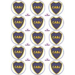 Lamina Para Cupcake Boca X   15 Unid.  - 1